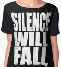 Silence will Fall Women's Chiffon Top