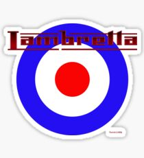 Lambretta Sticker