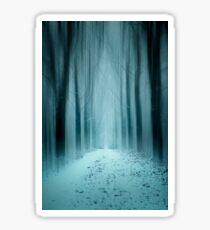 Winter Forest 2 Sticker
