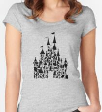 Castle of dreamers Women's Fitted Scoop T-Shirt