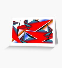 Linear Tracking Greeting Card