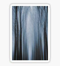 Winter Forest 4 Sticker