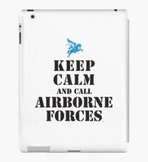 BEHALTE RUHE UND RUFE AIRBORNE FORCES iPad-Hülle & Klebefolie