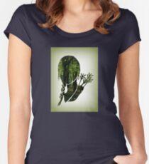 Katniss Everdeen in the Woods Women's Fitted Scoop T-Shirt