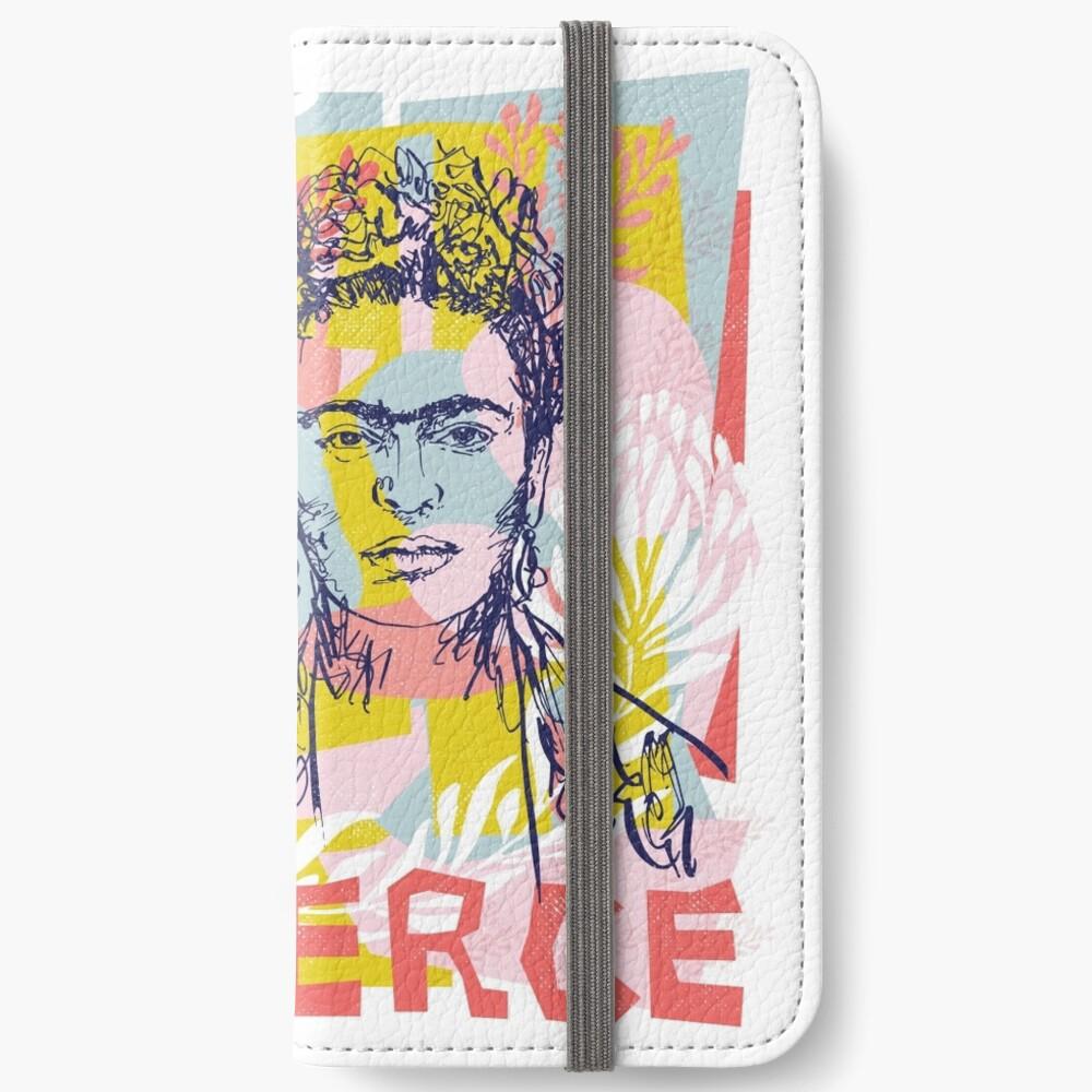 Fierce like Frida iPhone Wallet