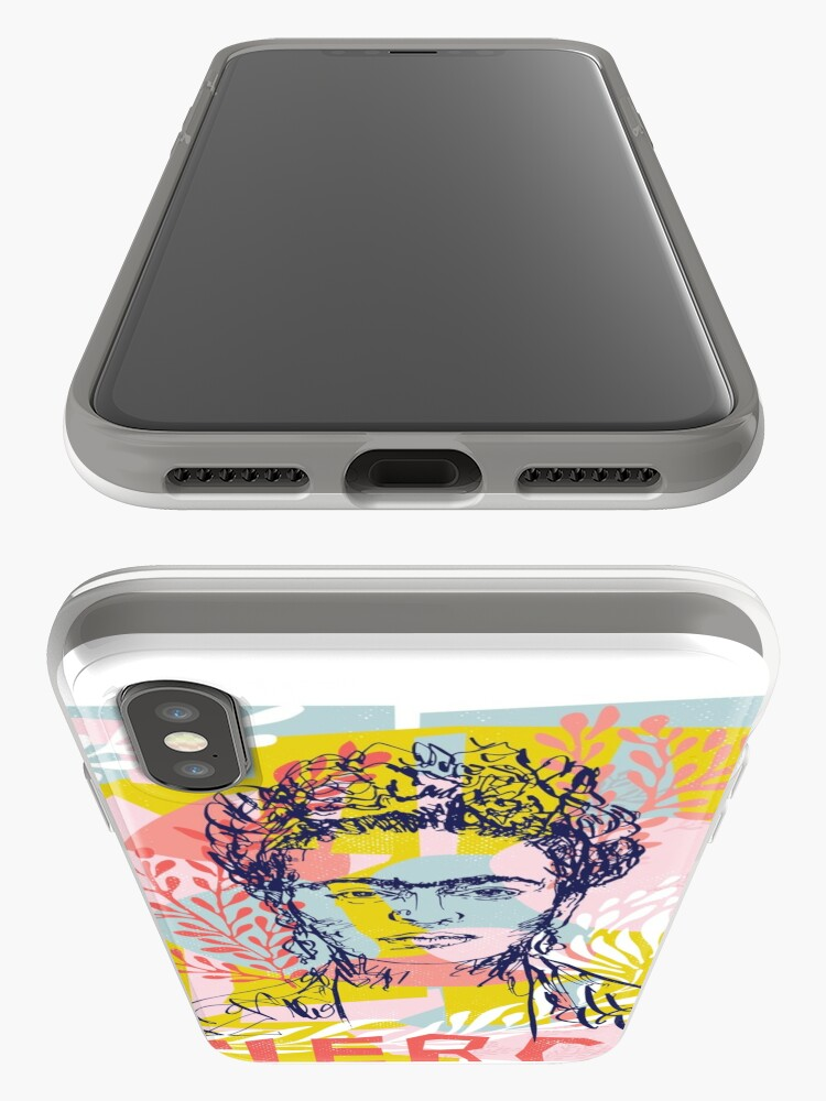 Alternate view of Fierce like Frida iPhone Case & Cover