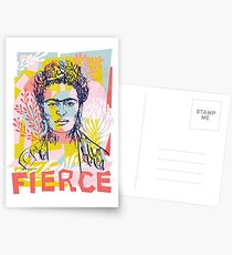 Heftig wie Frida Postkarten