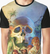 The Secret of Monkey Island 1 (High Contrast) Graphic T-Shirt