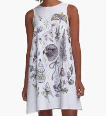 Originality and Wit A-Line Dress