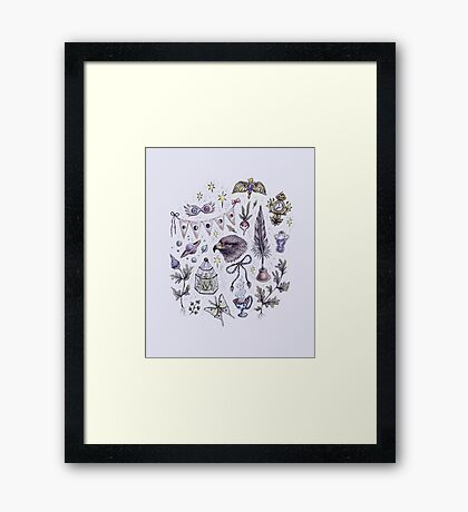 Originality and Wit Framed Print