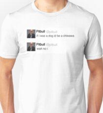 Pitbull tweet Unisex T-Shirt