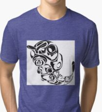 Caterpie Black Tri-blend T-Shirt