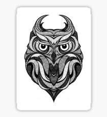 Aesthetics Owl Sticker