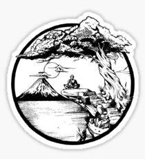Meditation Zen Sticker