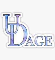 UDage Watercolor Sticker