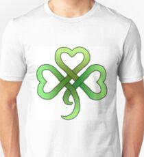 Celtic Knot Clover Unisex T-Shirt