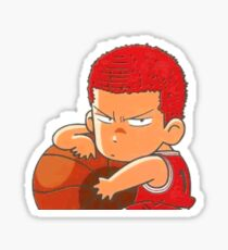 Sakuragi Hanamichi Slam Dunk Sticker