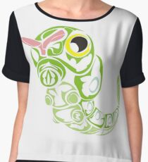 Caterpie Chiffon Top