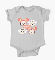 Easter Tsum Tsums One Piece - Short Sleeve