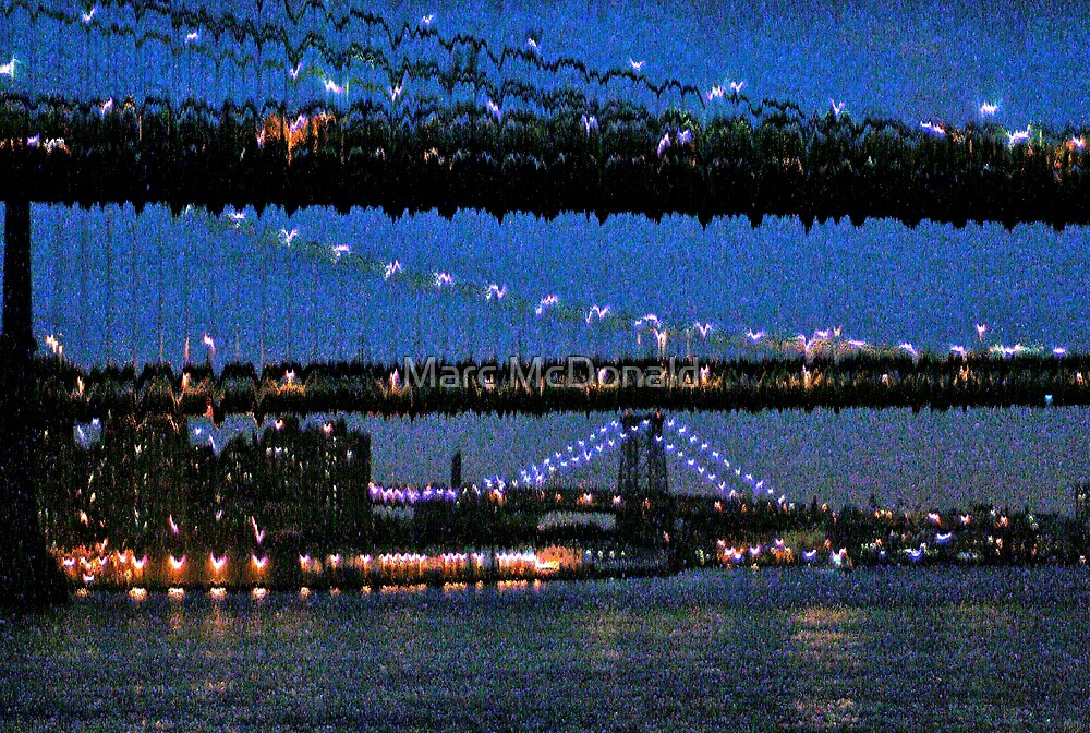 Night Bridges by Marc McDonald