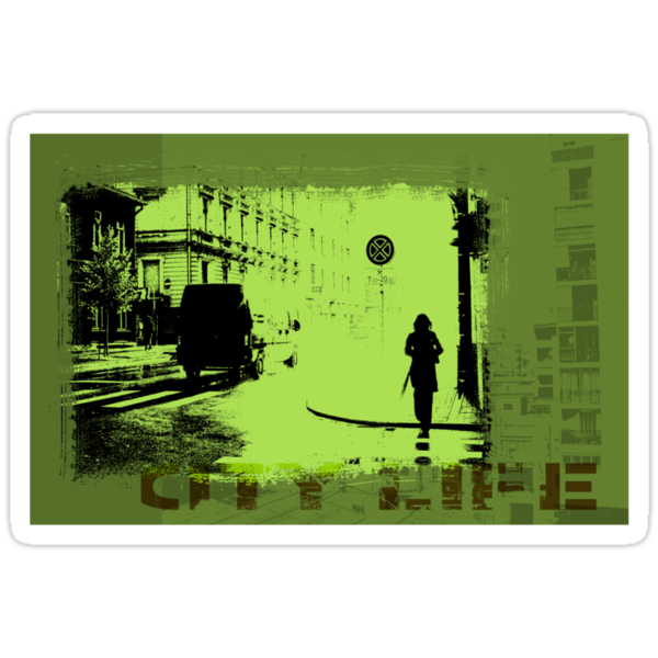 City Life by Karin  Hildebrand Lau