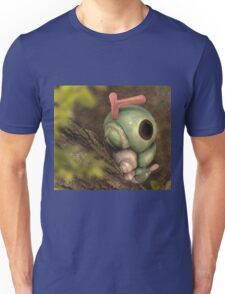 Caterpie on a tree Unisex T-Shirt