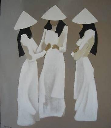 SERENE SCHOOL GIRLS by sharonldawson