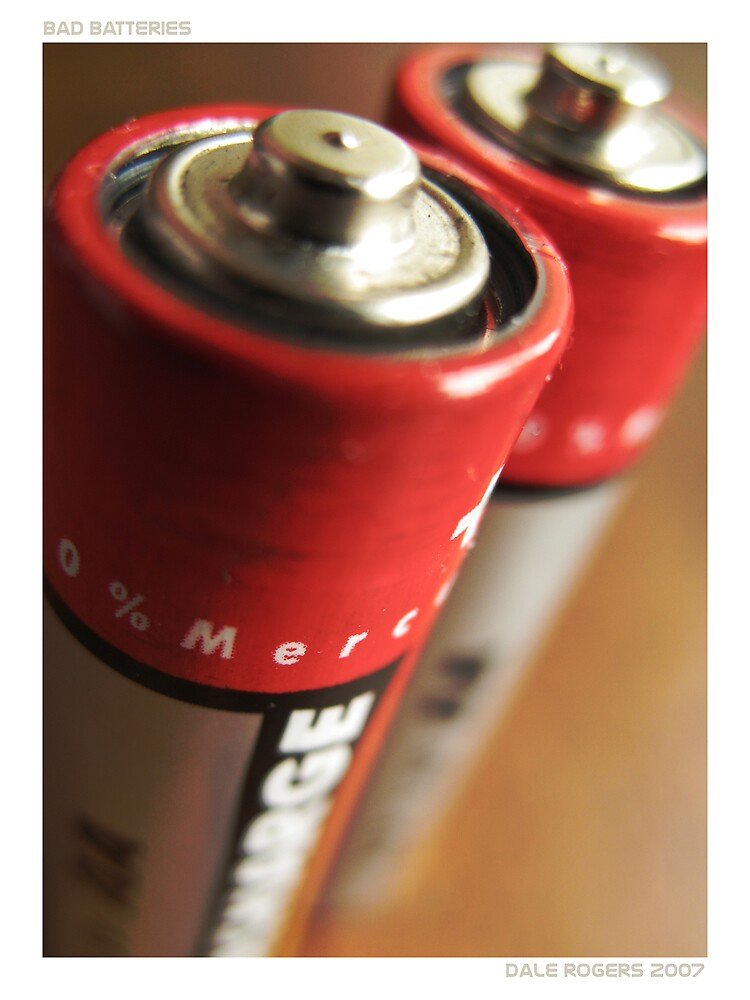 Bad Batteries by Photo Rangers