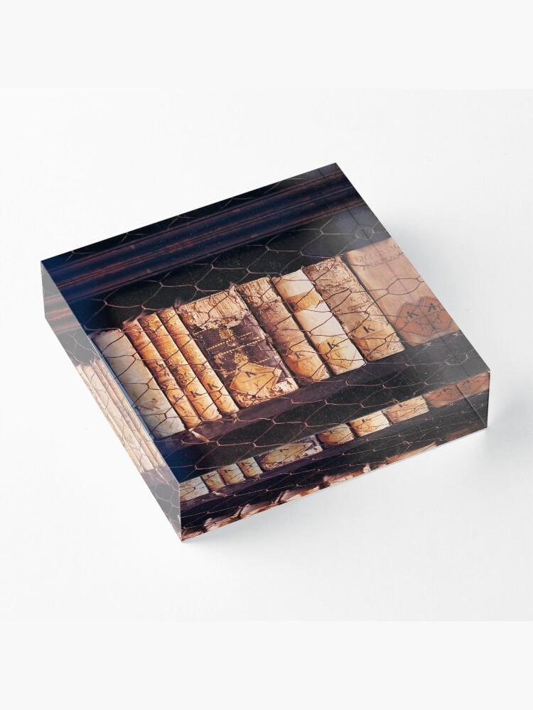 Vista alternativa de Bloque acrílico Libros antiguos