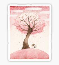 Sakura snow Sticker