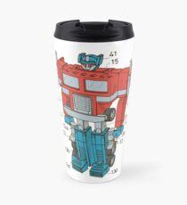 Optimus Prime Transformers Patent  Travel Mug