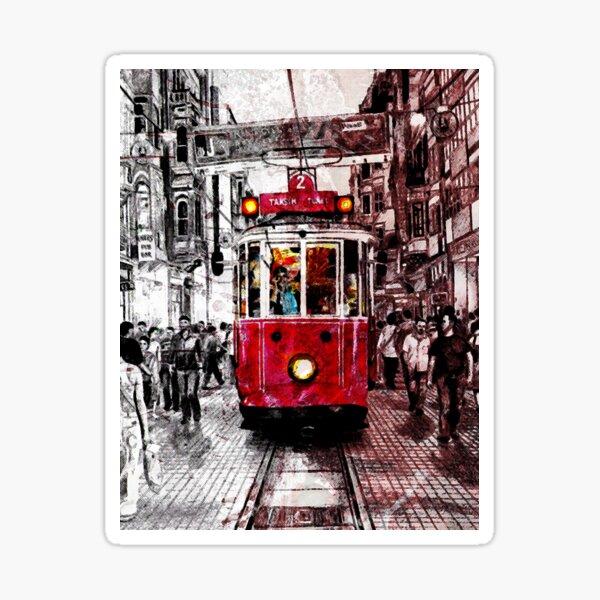 istanbul taksim Sticker