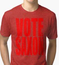 Vote Saxon Tri-blend T-Shirt