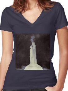 Towerbridge Women's Fitted V-Neck T-Shirt