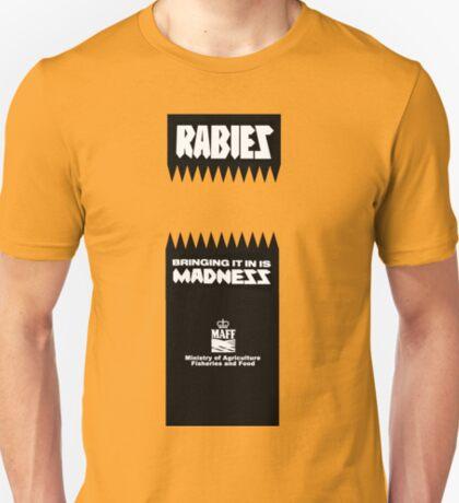 Classic MAFF 1980s rabies logo T-Shirt