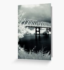 Morpeth  Bridge Greeting Card
