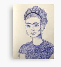 Frida Artwork Canvas Print