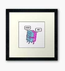 Lego! Framed Print