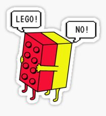 Lego! Traditional Sticker