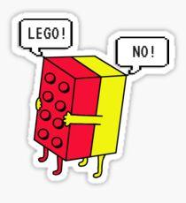 Pegatina ¡Lego! Tradicional