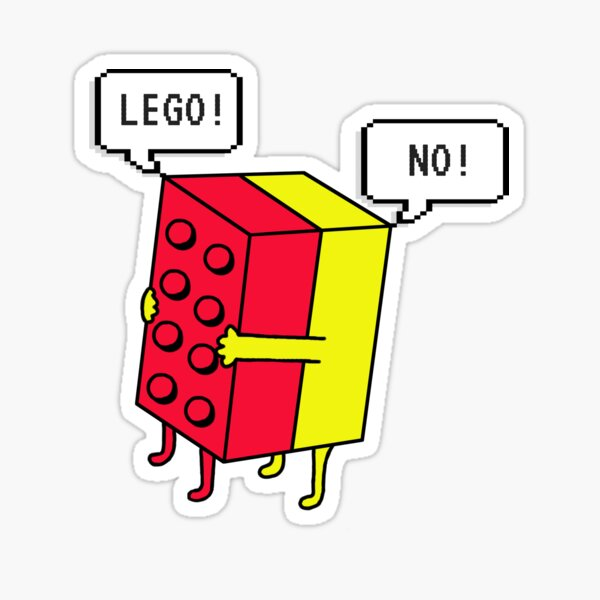 Lego! Traditionell Sticker