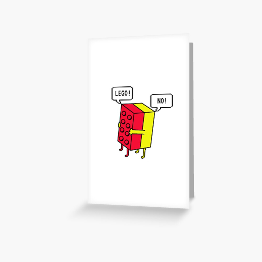Lego! Traditional Greeting Card