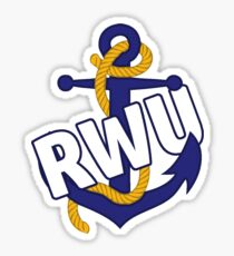 RWU Anchor Sticker