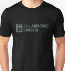 82nd Airborne Division (Subdued) Unisex T-Shirt