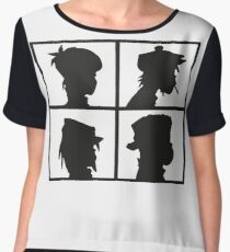 The Gorillaz Logo Chiffon Top