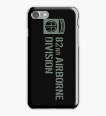 82nd Airborne Division (Subdued) iPhone Case/Skin