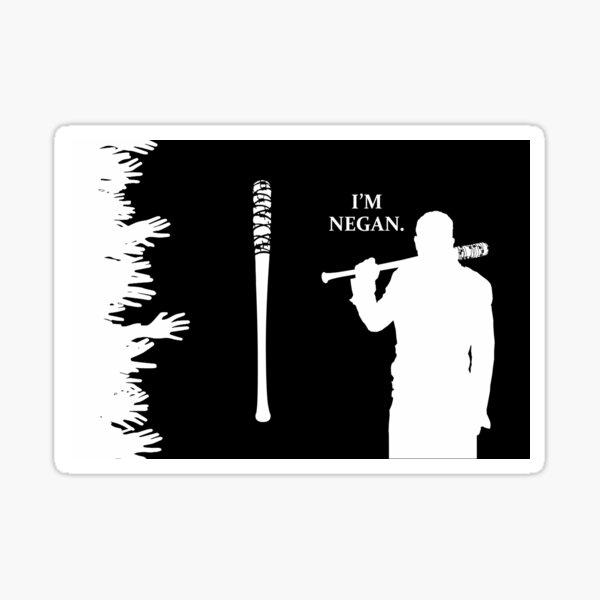 I Am Negan. Sticker