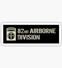 82nd Airborne Division (Subdued) Sticker