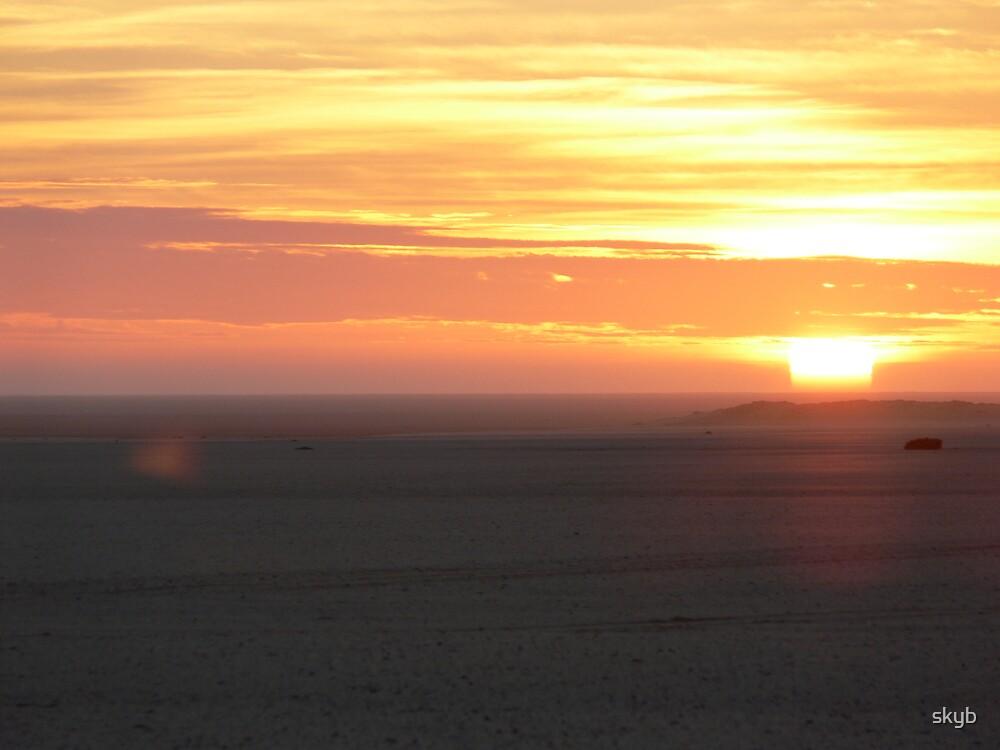 Desert Sunset by skyb
