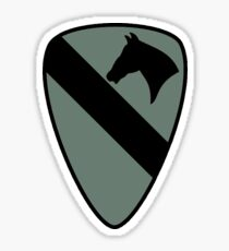 1st Cavalry Division (Subdued) Sticker